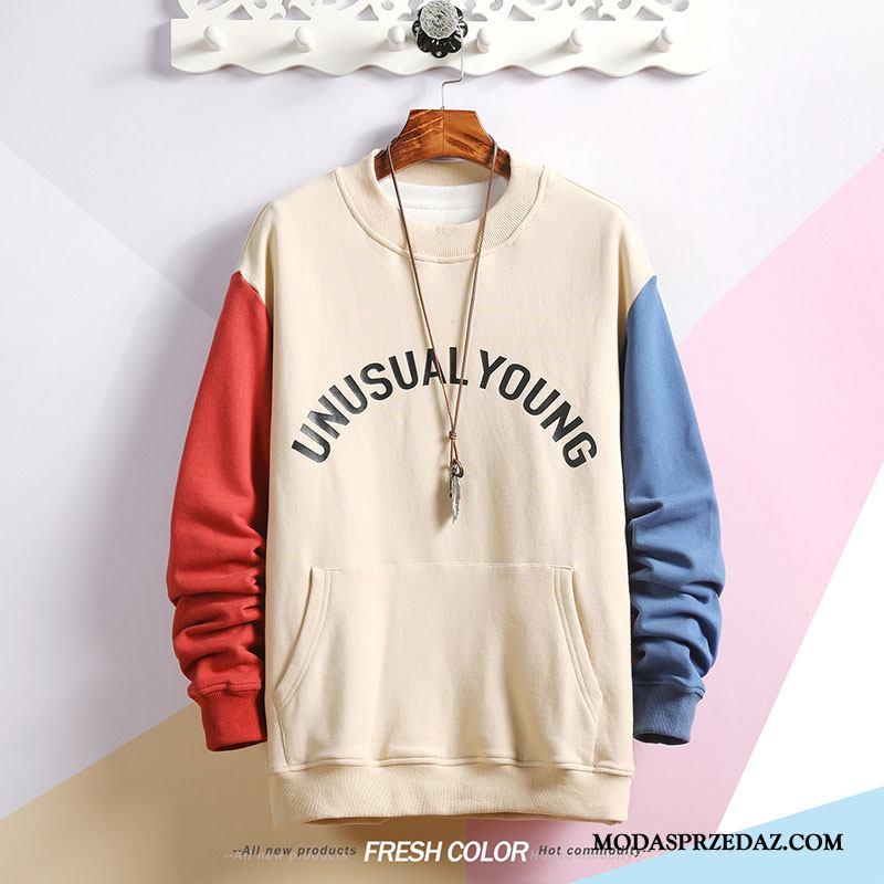 Bluza Z Kapturem Męskie Kup Tendencja Swag Nowy Płaszcz Pullover Biały