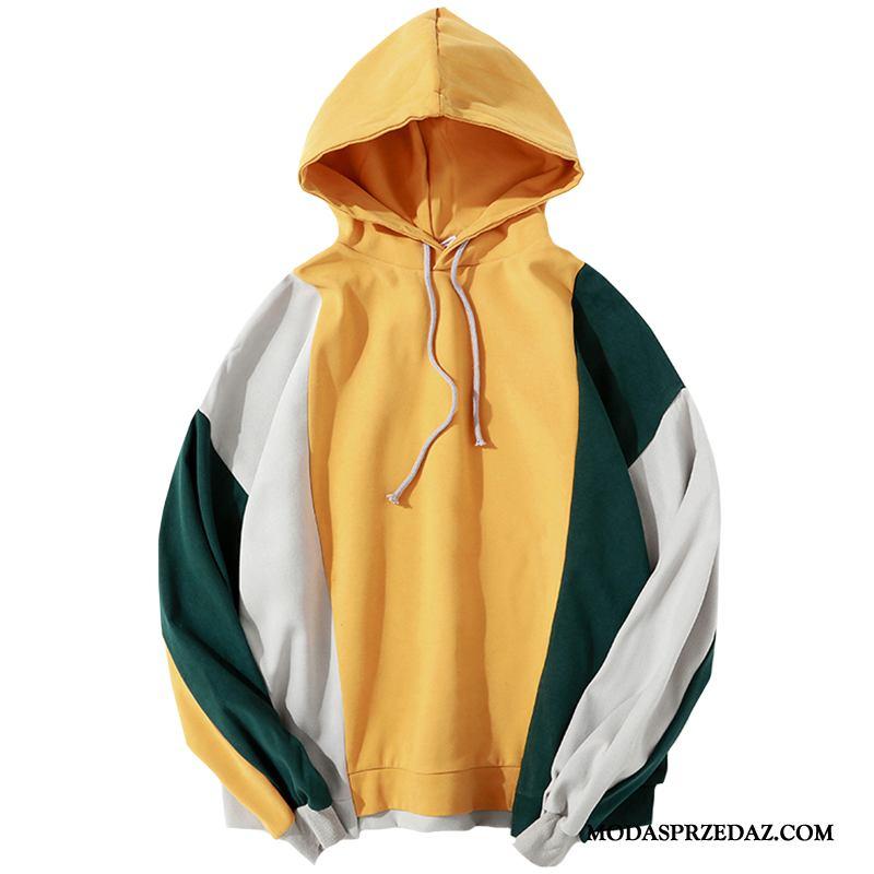 Bluza Z Kapturem Męskie Na Sprzedaż Wiosna Hip-hop Tendencja Bluzy Z Kapturem Płaszcz Żółty Zielony