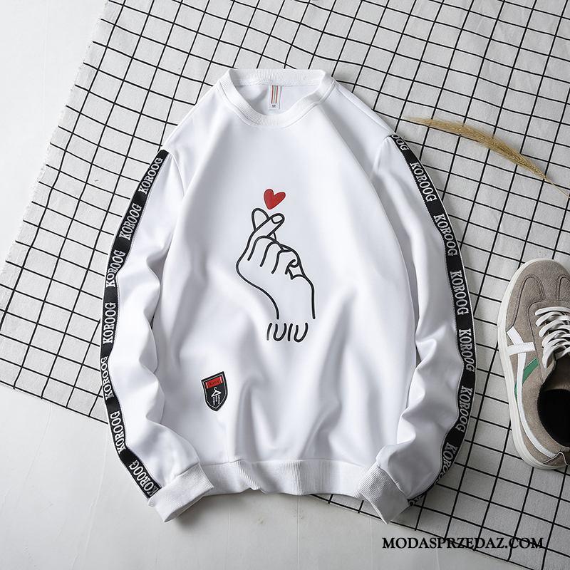 Bluza Z Kapturem Męskie Sprzedam Męska Student Bluzy Z Kapturem Nowy Wiosna Biały