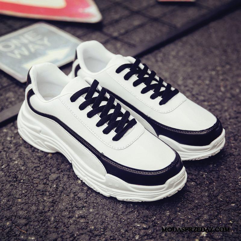 Buty Sportowe Męskie Online Lato Super Męska Tendencja Buty Na Deskorolke Biały