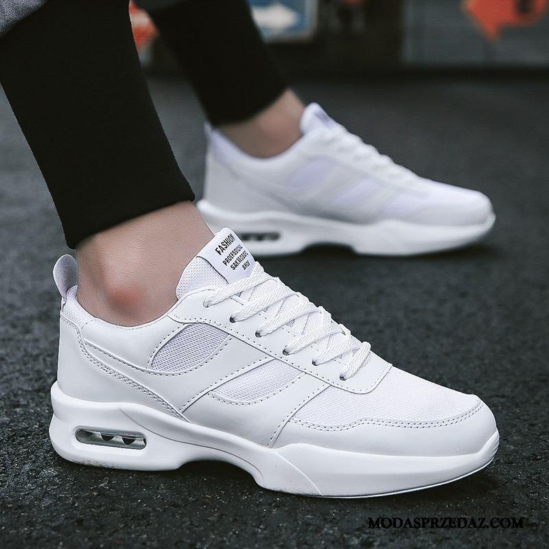 Buty Sportowe Męskie Online Tendencja Canvas Casual Buty Na Deskorolke Lato Biały