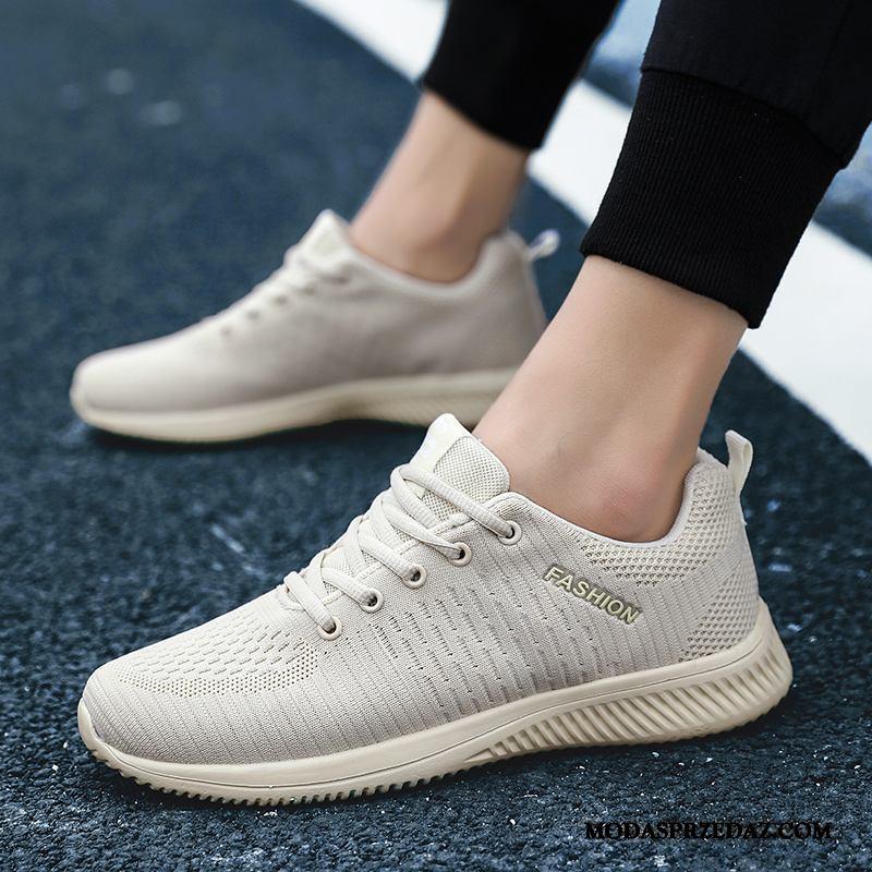 Buty Sportowe Męskie Sprzedam 2019 Wiosna Moda Buty Do Biegania Tendencja Beżowy Żółty