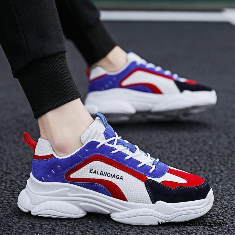 Buty Sportowe Męskie Sprzedam Wszystko Pasuje Tendencja Buty Na Deskorolke 2019 Męska Niebieski Biały Czerwony