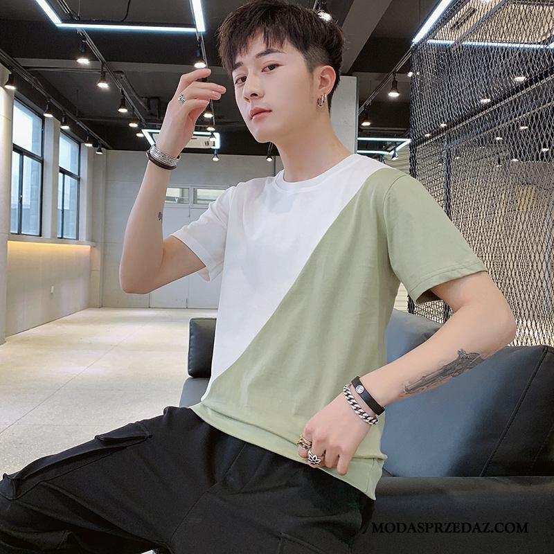 Koszulki Męskie Sklep Proste Tendencja 2019 Nowy Męska Mieszane Kolory Zielony