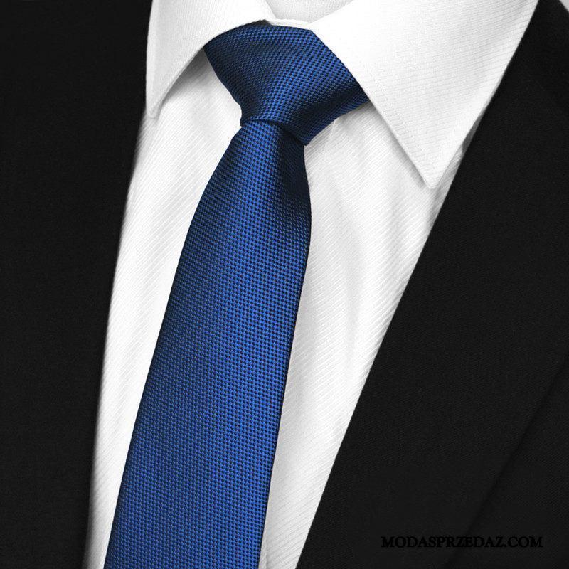 Krawat Męskie Kup Sukienka Męska Dwustronny Biznes Wodoodporny Czysta Beżowy Niebieski