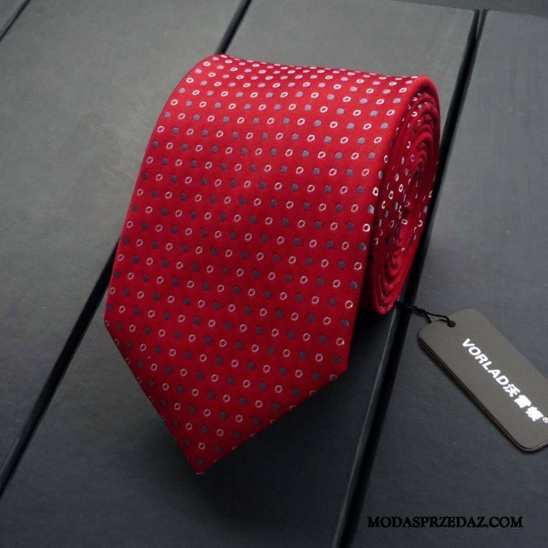Krawat Męskie Sprzedam Męska Pudełko Na Prezenty Z Pracy Biznes W Paski Ciemno Niebieski Czerwony