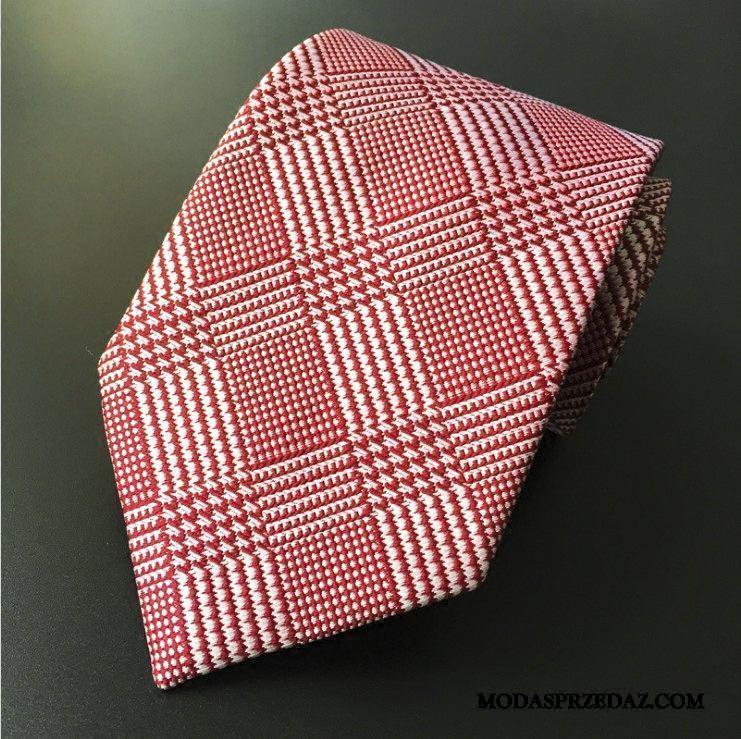 Krawat Męskie Sprzedam Sukienka Brytyjski Męska Z Pracy Wszystko Pasuje Niebieski Czerwony Żółty