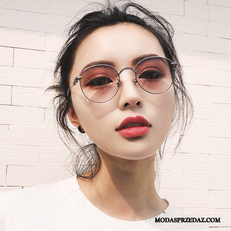 Okulary Przeciwsłoneczne Damskie Kup 2019 Nowy Trendy Osobowość Vintage Proszek