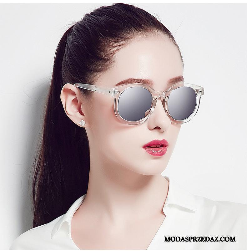 Okulary Przeciwsłoneczne Damskie Sklep Zakochani Długie 2019 Osobowość Okrągła Twarz Kolor Szary