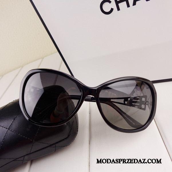 Okulary Przeciwsłoneczne Damskie Sprzedam Damska Komfortowy Duży Wysoki Koniec Z Kryształkami Niebieski Czarny