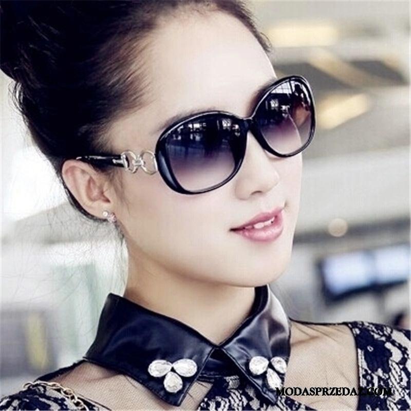 Okulary Przeciwsłoneczne Damskie Sprzedam Dla Kierowców Mały Damska Ochrona Przed Słońcem Polaryzator Fioletowy Czarny