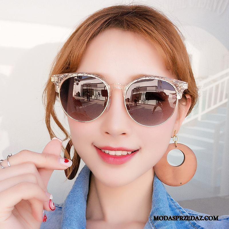 Okulary Przeciwsłoneczne Damskie Sprzedam Krótkowzroczność Vintage 2019 Nowy Damska Kolor Fioletowy Brązowy