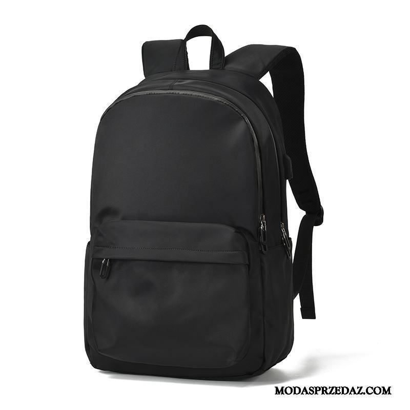Plecak Męskie Tanie Casual Trendy Podróż Wielki Moda Czarny