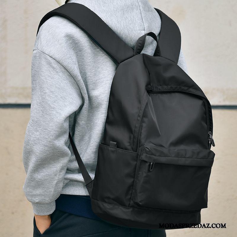 Plecak Męskie Tanie Student Wielki Moda Podróż Liceum Czarny