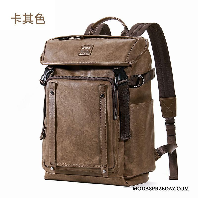 Plecak Podróżny Męskie Kupię Męska Student Duża Pojemność Na Zakupy Vintage Khaki