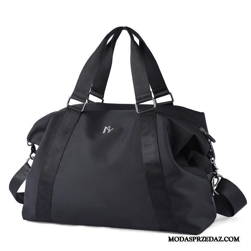 Plecak Podróżny Męskie Na Sprzedaż Płótno Torba Podróżna Duże Torby Casual Moda Czarny