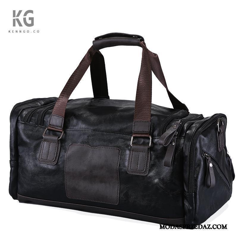 Plecak Podróżny Męskie Na Sprzedaż Sportowe Torba Podróżna Krótki Duża Pojemność Wielki Czarny