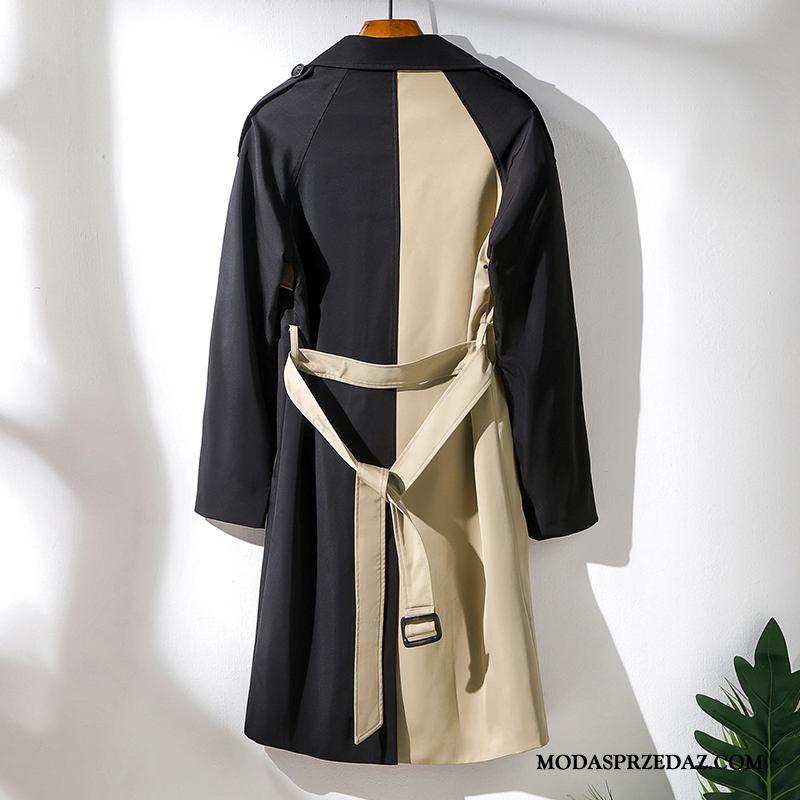 Prochowiec Męskie Sprzedam Płaszcz Tendencja Piękny Wiosna Męska Khaki Czarny