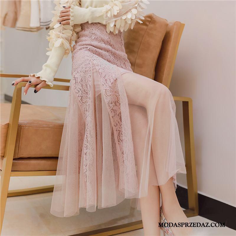 Spódnica Damskie Sprzedam Gazy Sukienka Mały Koronkowe Wysoki Stan Proszek