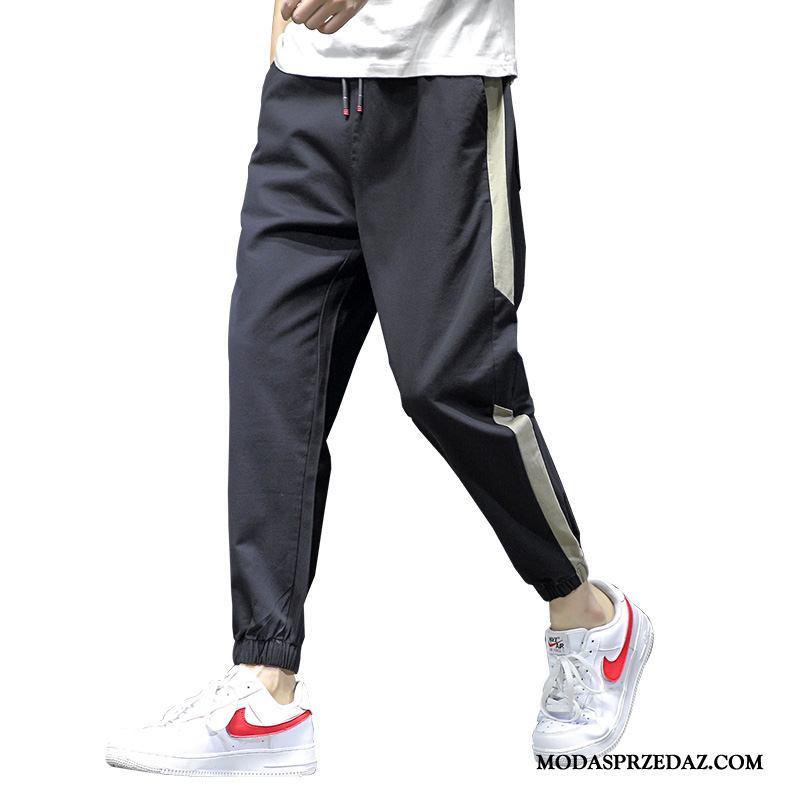 Spodnie Męskie Kup Duży Rozmiar Casualowe Spodnie Harlan Sportowe Hip-hop Czarny