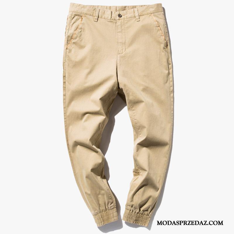 Spodnie Męskie Kup Slim Fit Męska Casualowe Spodnie Jesień Ołówkowe Spodnie Khaki