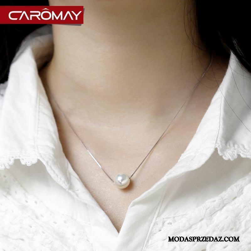 Srebrna Biżuteria Damskie Sprzedam Akcesoria Prosty Damska Wisiorek Eleganckie Srebrny Biały