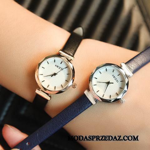 Zegarek Na Rękę Damskie Kup Trendy Moda Casual Paski Student Czarny