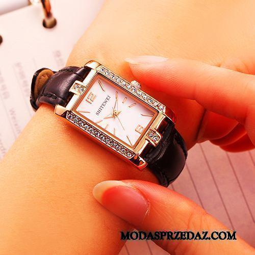 Zegarek Na Rękę Damskie Na Sprzedaż Prosty 2019 Trendy Moda Wodoodporny Czarny