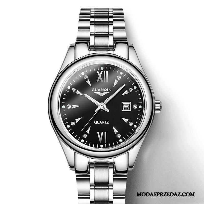 Zegarek Na Rękę Damskie Sprzedam Damska Wodoodporny Cienkie Trendy Moda Czarny