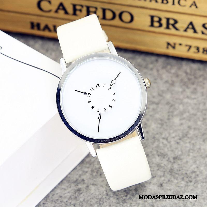 Zegarek Na Rękę Damskie Sprzedam Student Trendy Prosty Zakochani Twórczy Biały