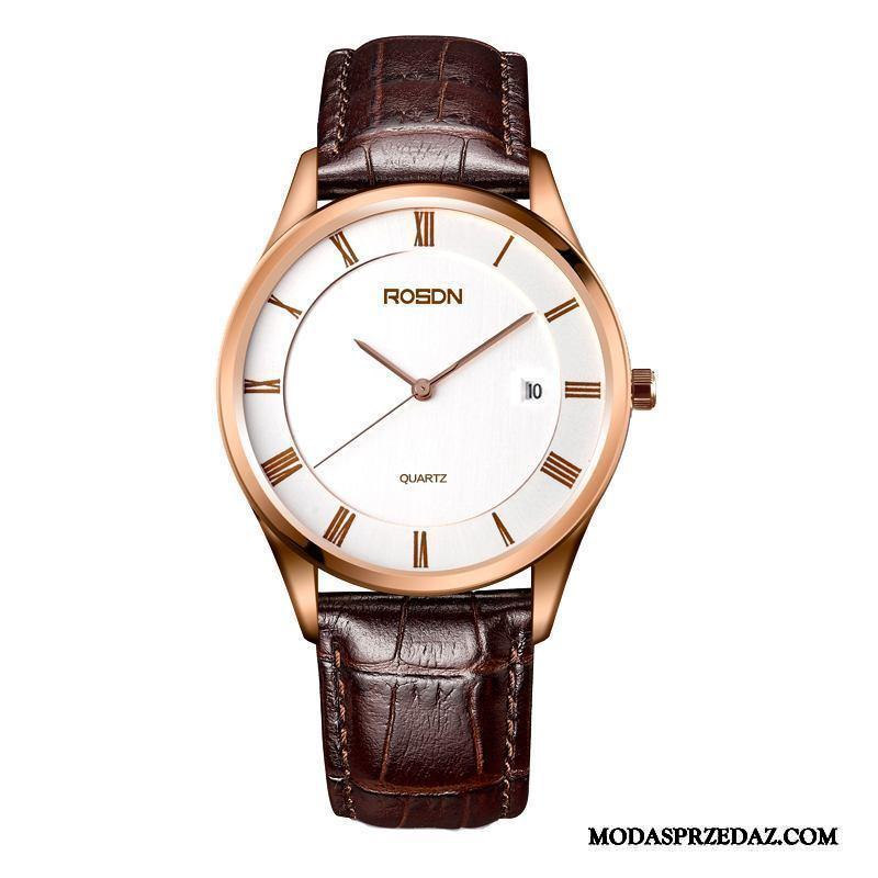 Zegarek Na Rękę Męskie Oferta Oryginalne Zakochani Męska Wodoodporny Nowy Złoty Biały