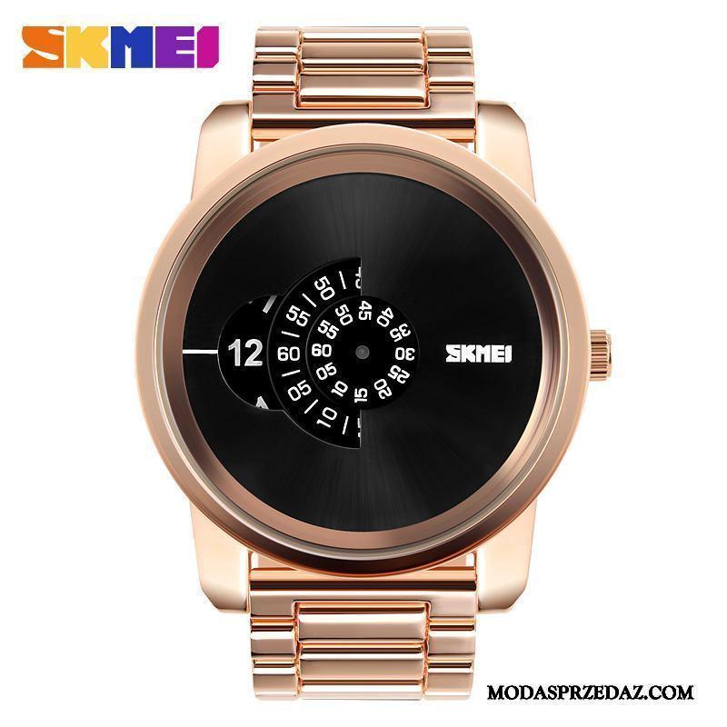 Zegarek Na Rękę Męskie Online Prosty Biznes Wielki Osobowość Moda Róża Złoty