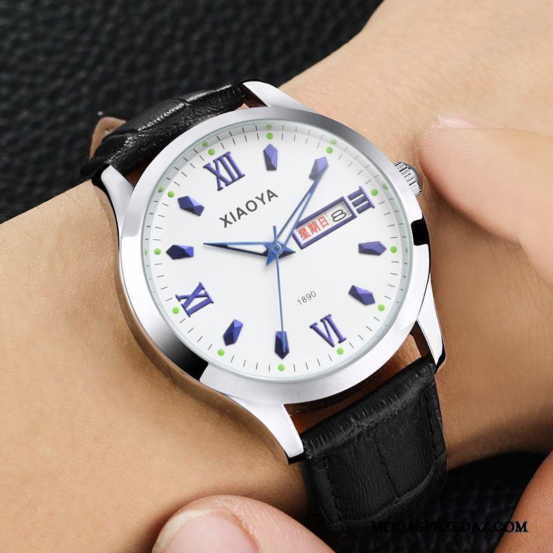 Zegarek Na Rękę Męskie Sklep Paski Casual Eleganckie Prosty Świecące Czarny