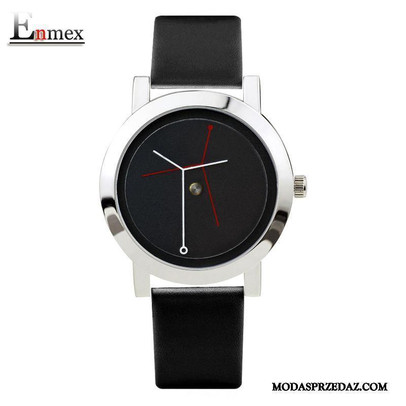 Zegarek Na Rękę Męskie Sprzedam Prosty Średni Święto Twórczy Prezent Srebrny Czarny