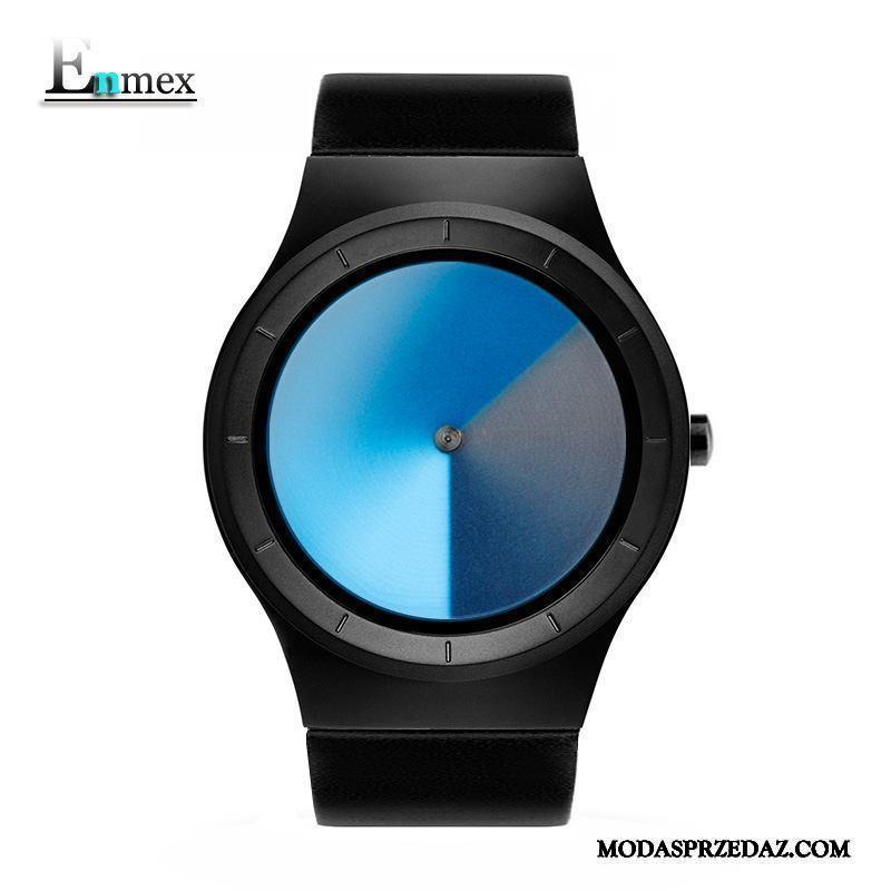 Zegarek Na Rękę Męskie Tanie Twórczy Trójwymiarowy Trendy Prezent Święto Czarny